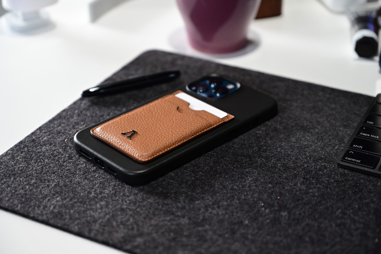 Cartera Labodet en AppleiPhone de cuero 12 Estuche Pro Max