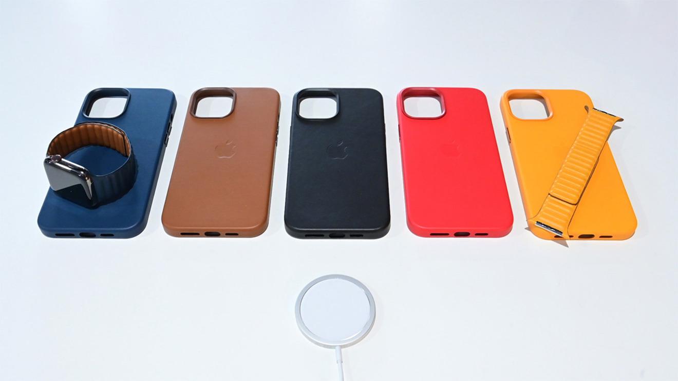 Apple  Estuche de cuero con MagSafe
