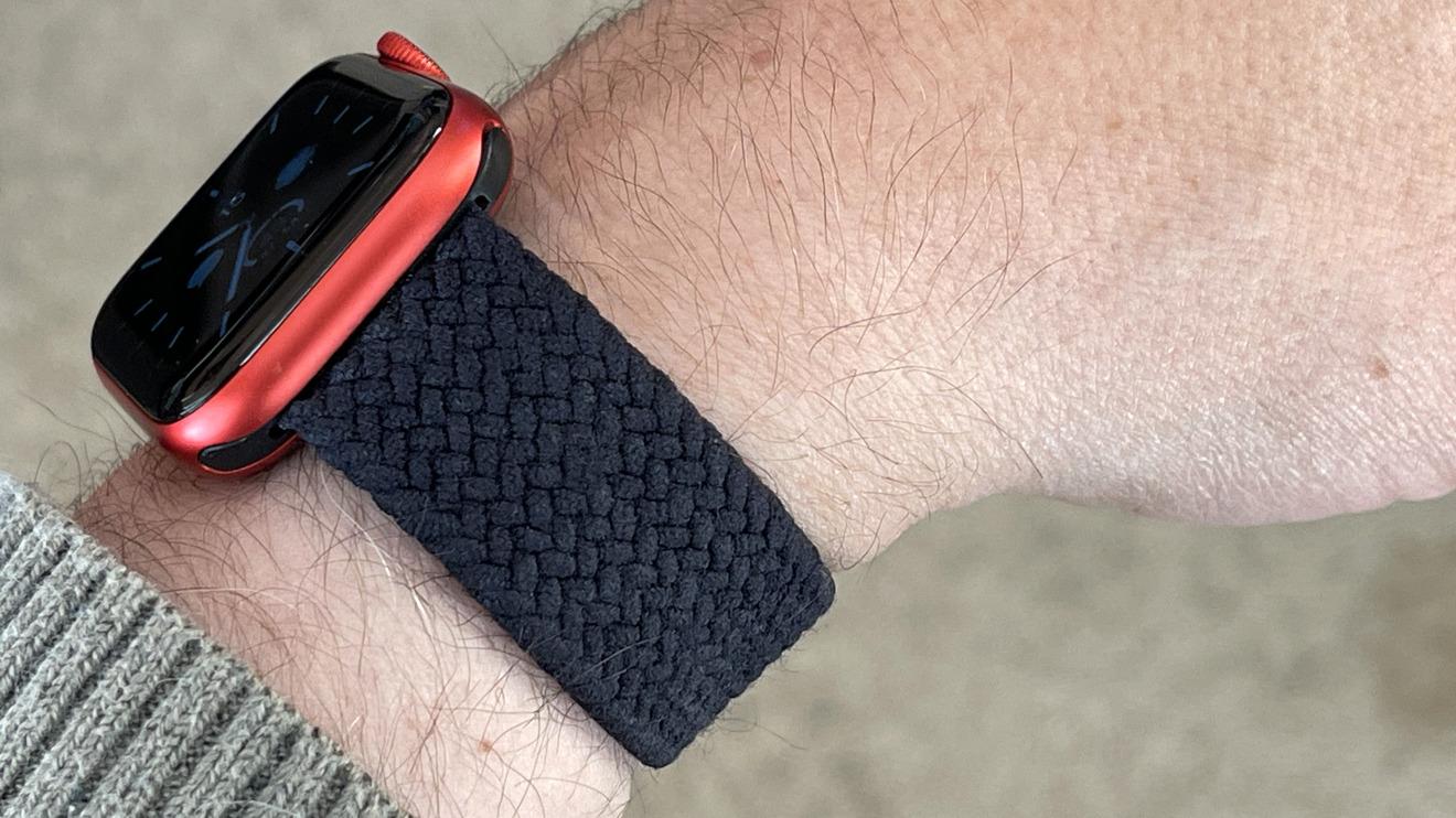 Lazo solo trenzado Apple Watch Bandas