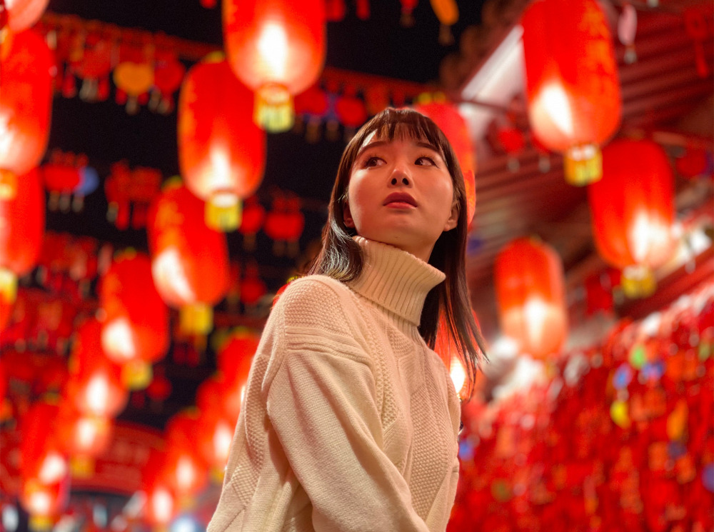 Toma de retrato en iPhone 12 Pro Max de NKCHU, China.
