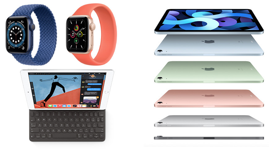 iPads y Apple Watch modelos Apple lanzado en un evento unas semanas después de la publicación del informe.