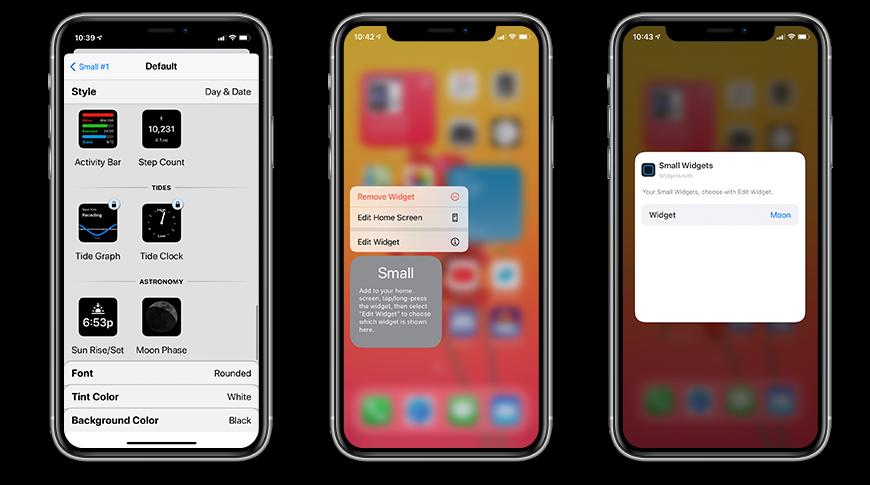 Cómo crear tus propios widgets con Widgetsmith