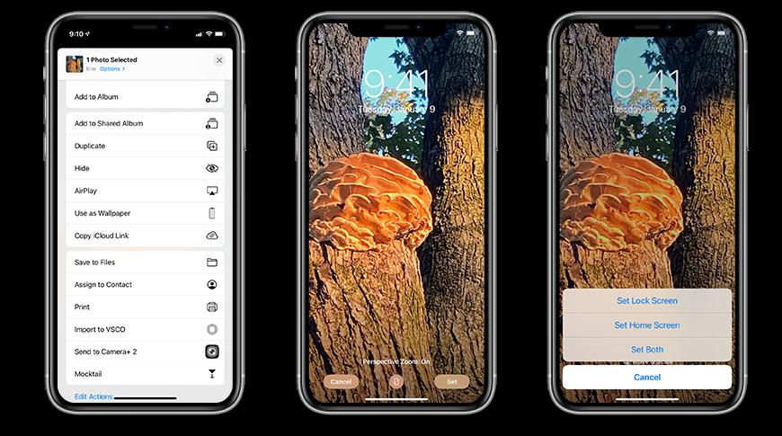 Configurar un fondo de pantalla personalizado en iOS 14