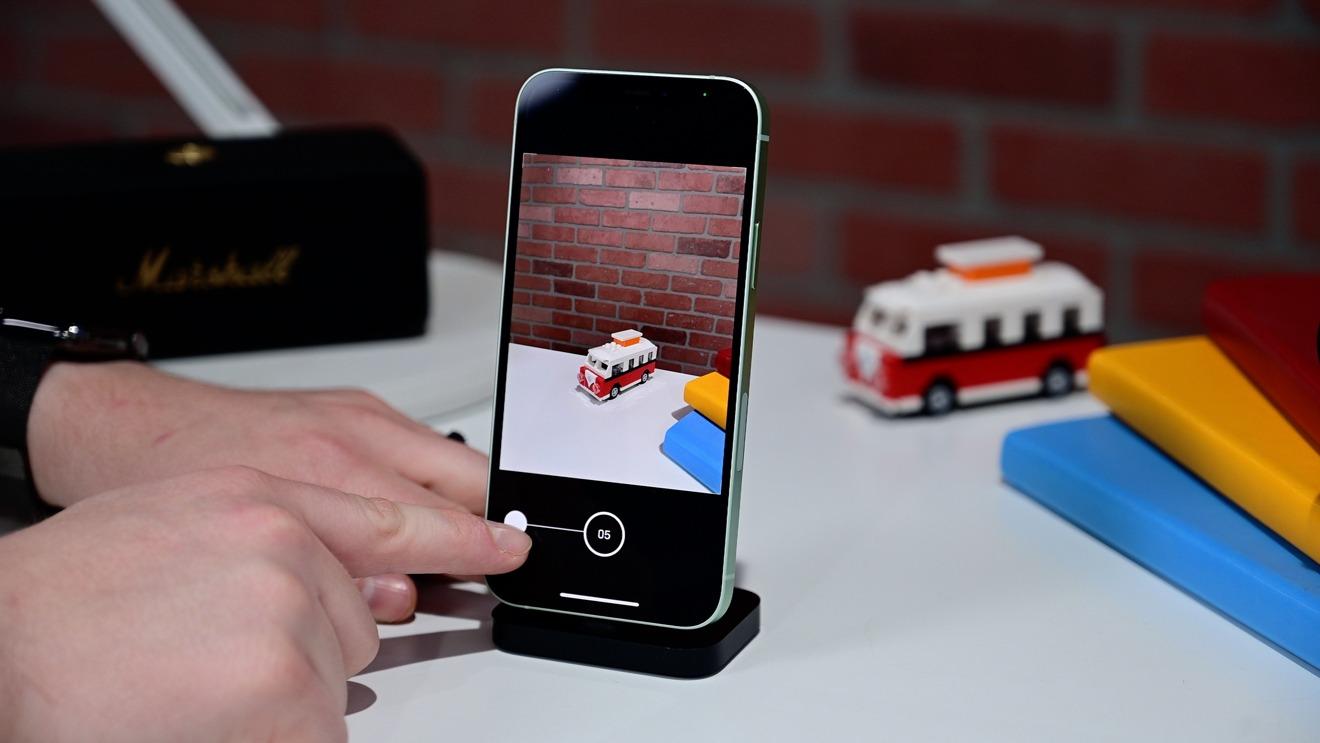 Capture fotos en ráfaga con QuickTake