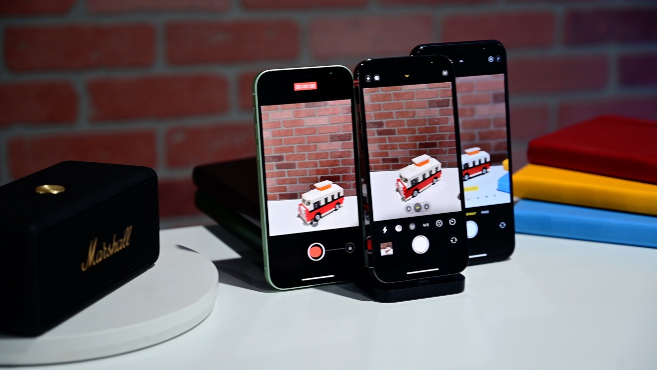 Aplicación de cámara en iPhone 12 y iPhone 12 Pro