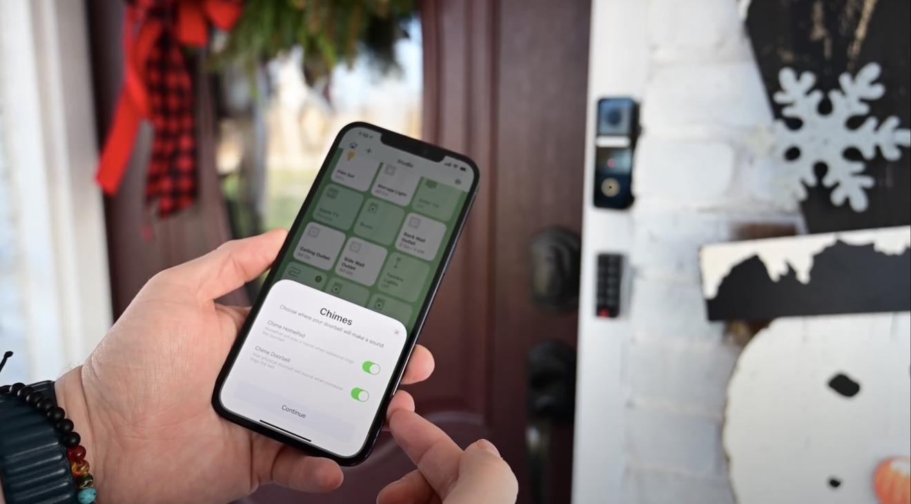 HomeKit sigue siendo fantástico y los timbres tienen muchos beneficios, incluido el repiqueteo en el HomePod