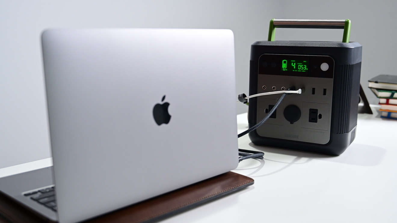 Zendure SuperBase 500 puede alimentar nuestra Mac