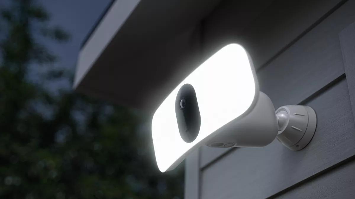 Arlo Pro 3 La cámara Floodlight funciona con HomeKit