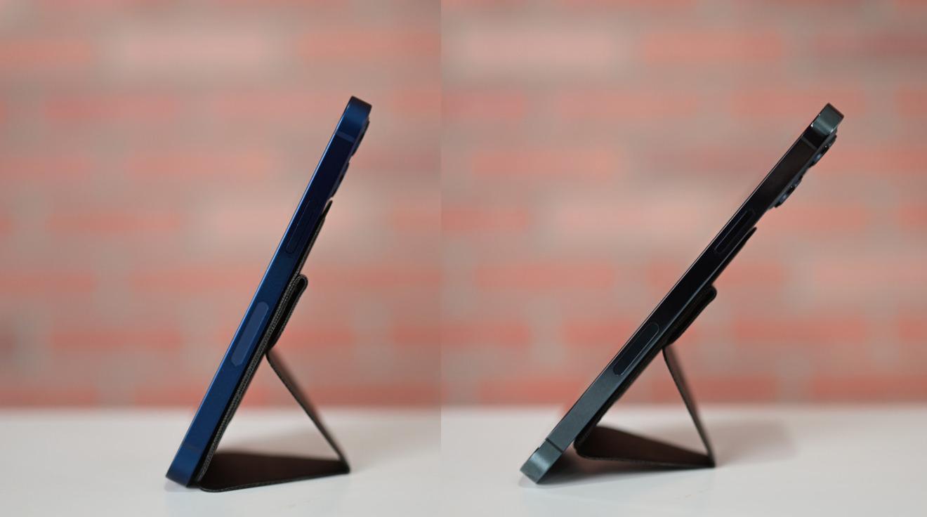 iPhone 12 mini versus iPhone 12 Pro Max con Moft