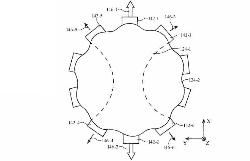 Los actuadores pueden desviar una lente llena de líquido y ajustar sus propiedades ópticas.