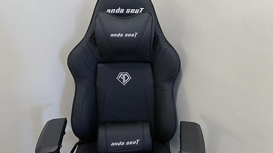 La silla con almohadas incluidas