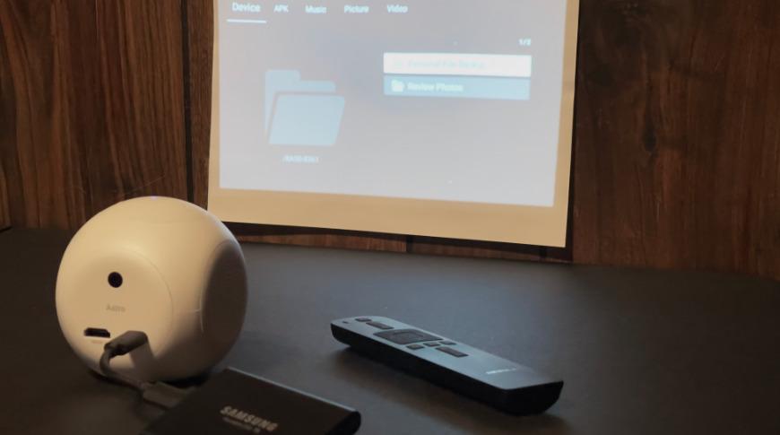 Conectar este SSD externo de 1TB a Astro fue simple