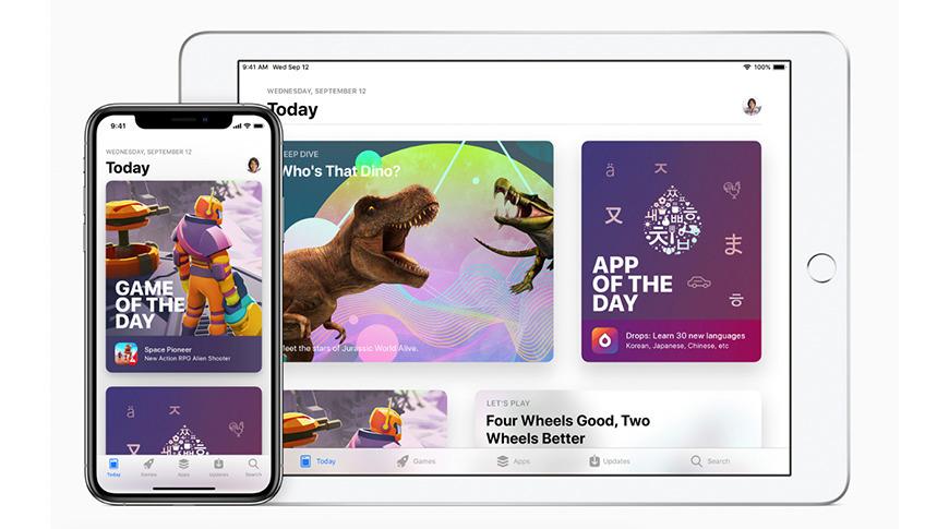 La App Store significa que los desarrolladores tienen acceso tanto al iPhone como al iPad.