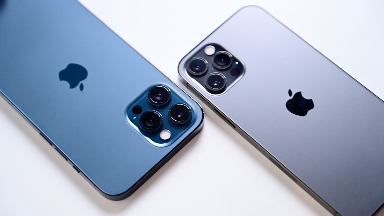 Comparando iPhone 12 Pro Max y iPhone 12 Módulos de cámara profesional