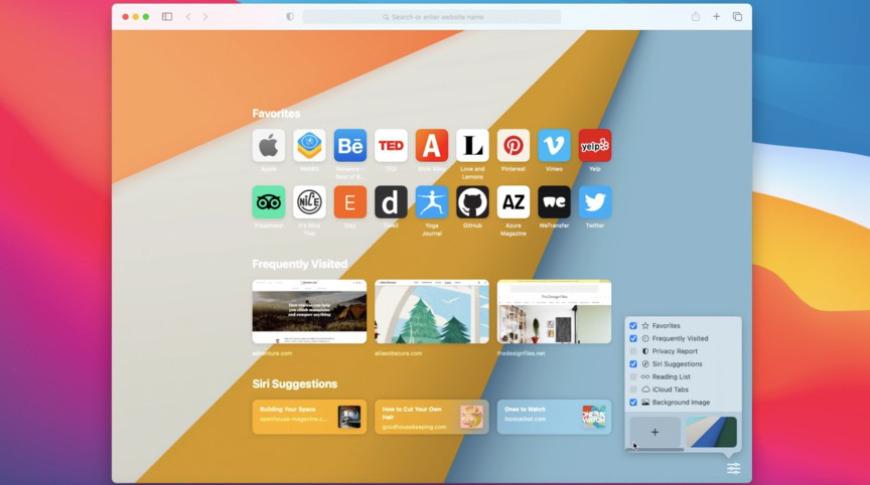 Safari se ha actualizado con una nueva página de inicio, compatibilidad con extensiones más amplias y nuevas funciones de privacidad.
