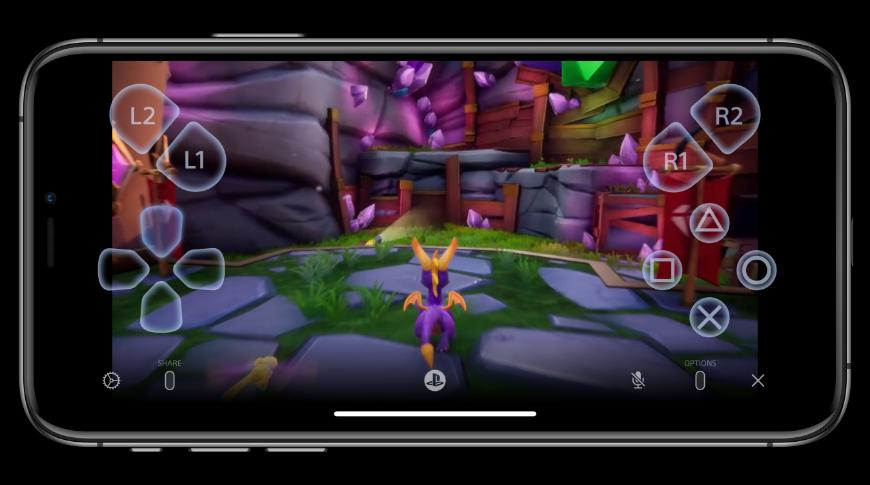 El uso a distancia te permite jugar tu Playstation en tu iPhone
