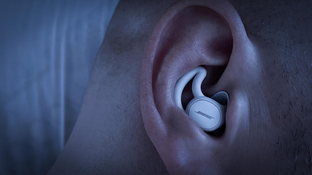 Bose Sleepbuds II en el oído