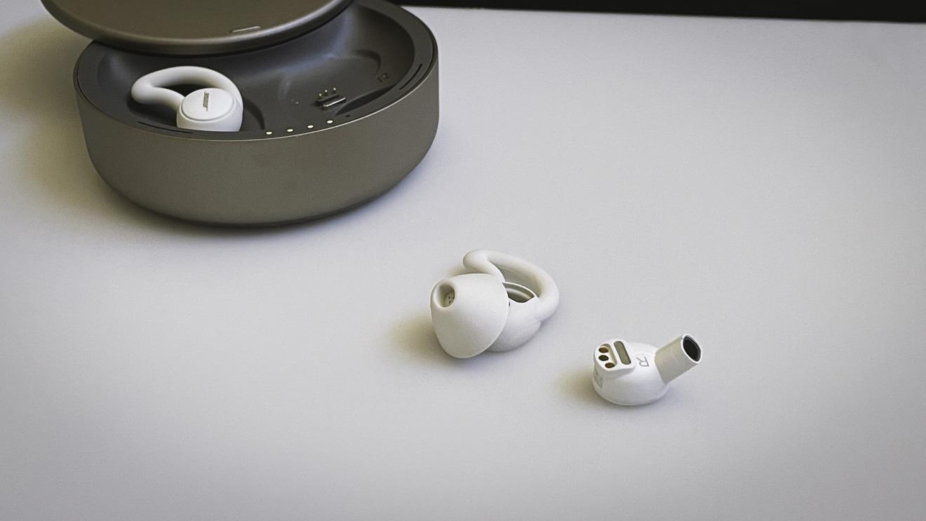 Bose Sleepbuds II sin la punta del oído