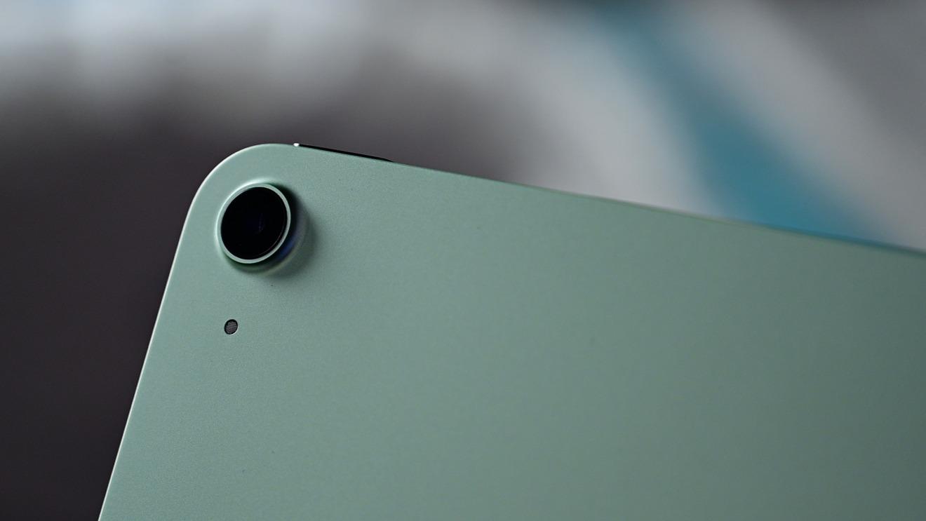 Nueva cámara en iPad Air