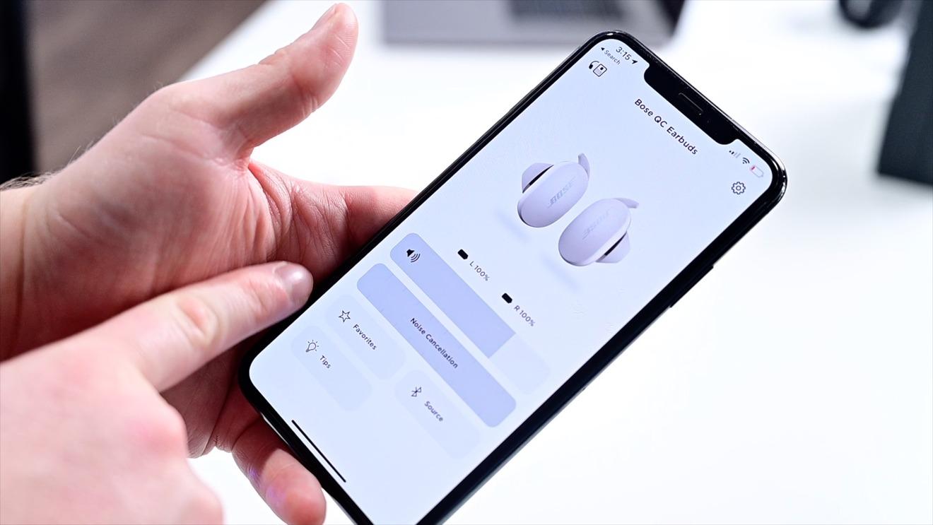 Aplicación Bose Sound