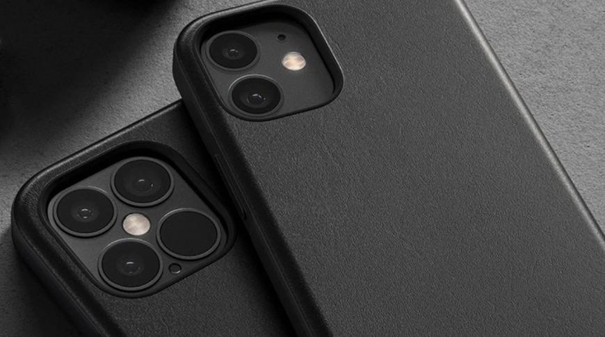 Fundas de piel Nomad Horween para iPhone 12