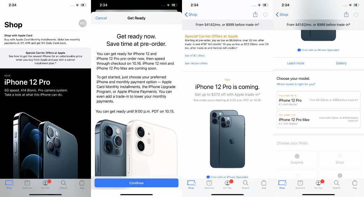 Ya sea que se registre por primera vez o ya sea miembro, comience eligiendo su nuevo iPhone