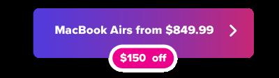 MacBook Air a la venta por un botón de $ 849