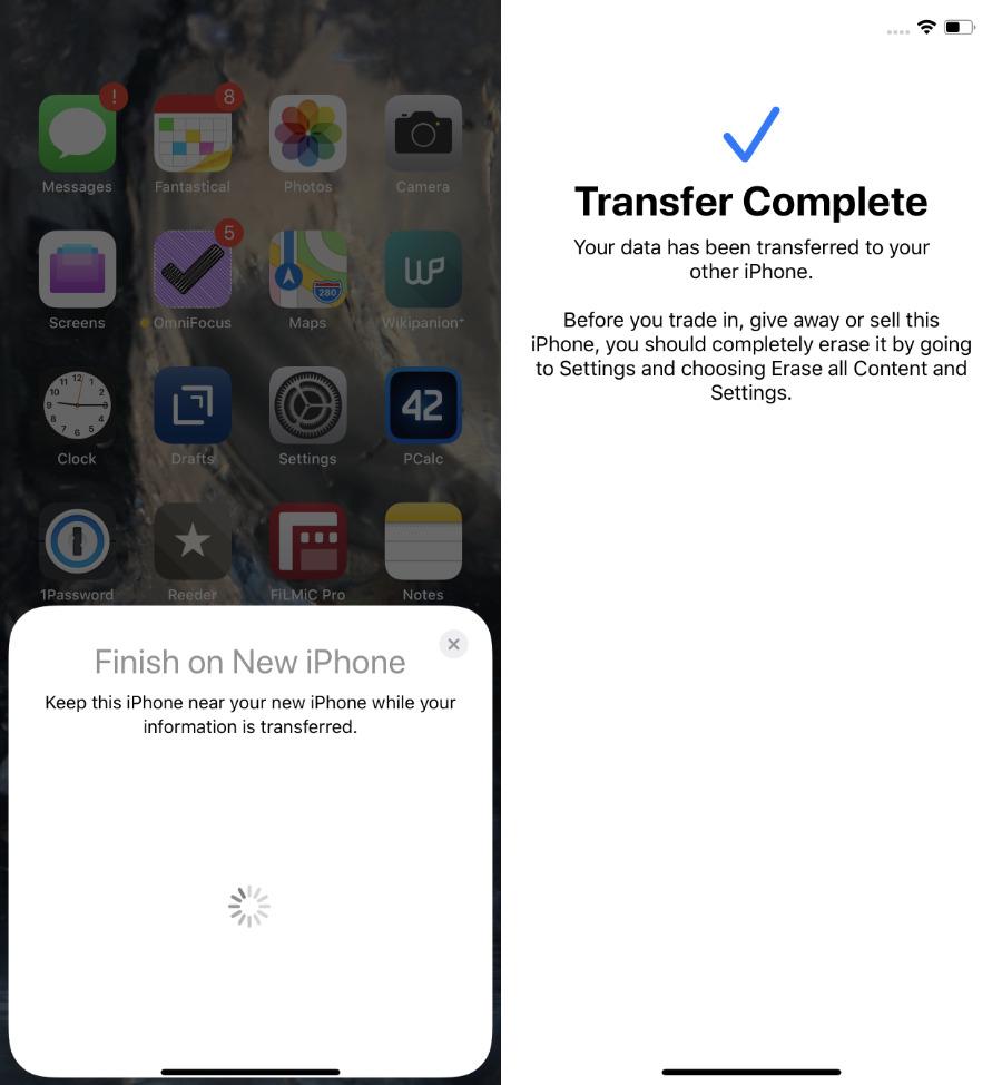 Cómo transferir datos de un iPhone antiguo a uno nuevo