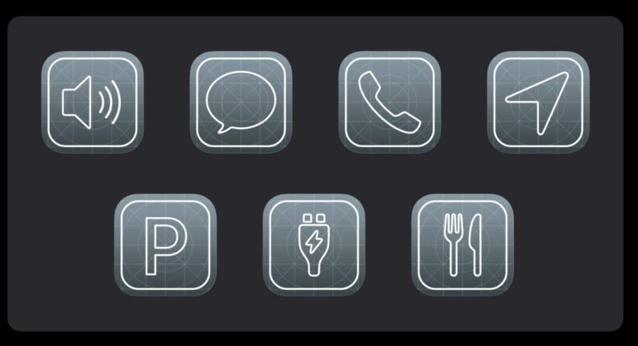 Ahora hay siete categorías de aplicaciones que puede usar en CarPlay, incluidas las nuevas Parking y Quick Food Ordering.