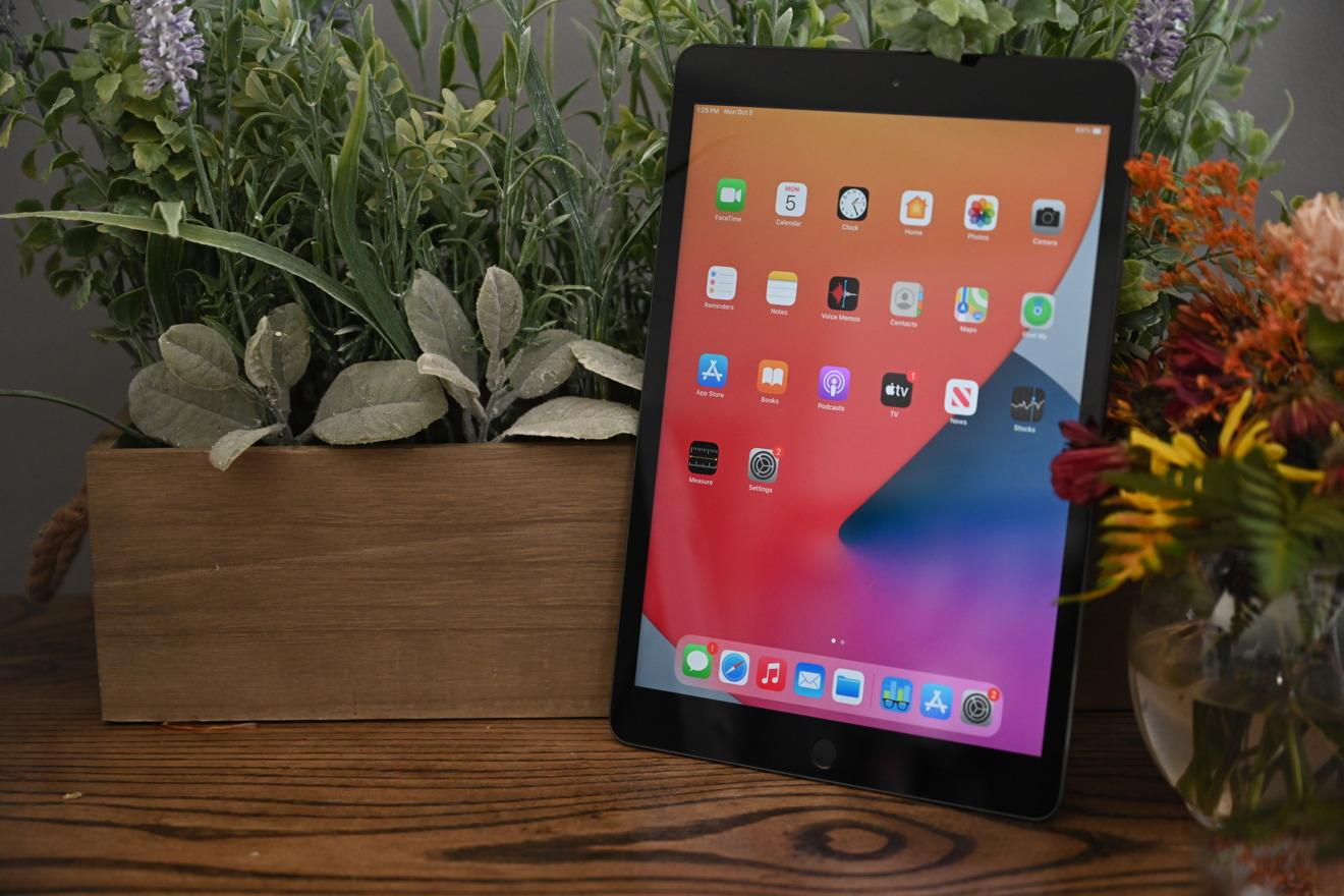 Mostrar en el iPad de octava generación