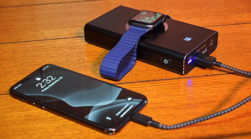 Carga hasta cinco dispositivos a la vez con Flash 2.0