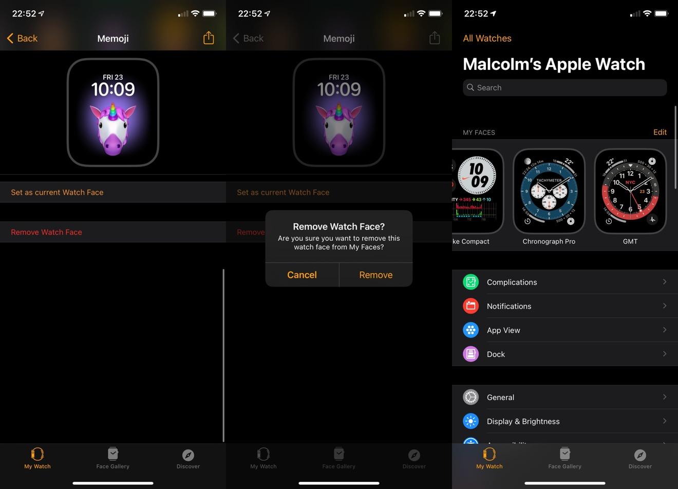 Cómo eliminar una esfera de reloj en iOS 14