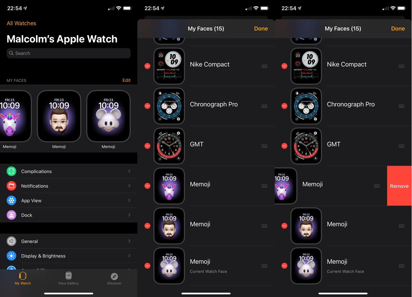 Cómo eliminar múltiples esferas de reloj en iOS 14