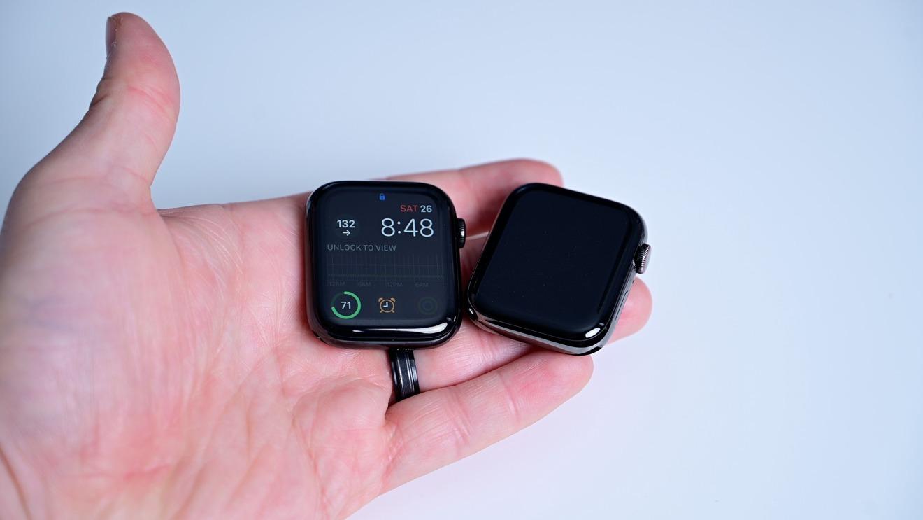Aunque el Graphite es un poco más claro, este y el Space Black aún comunican 'Black Apple Watch'a los espectadores.