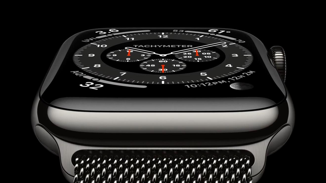 Grafito Apple Watch Serie 6