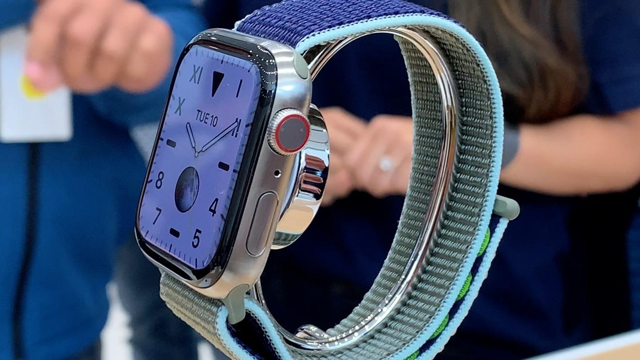 Titanio natural Apple Watch Serie 6