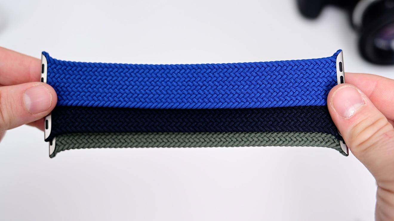Tres colores del Solo Loop trenzado