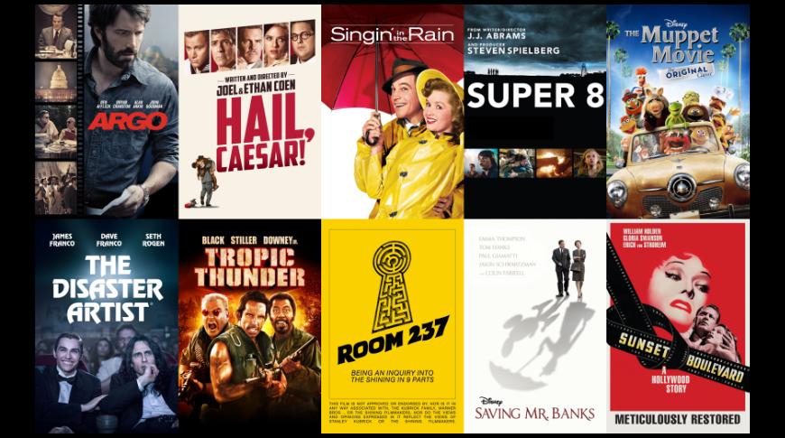 Películas sobre cómo hacer películas