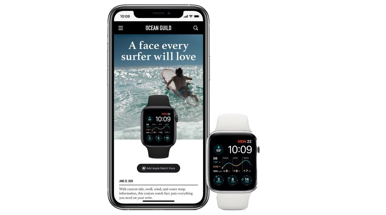 Apple Watch  compartir caras en watchOS 7