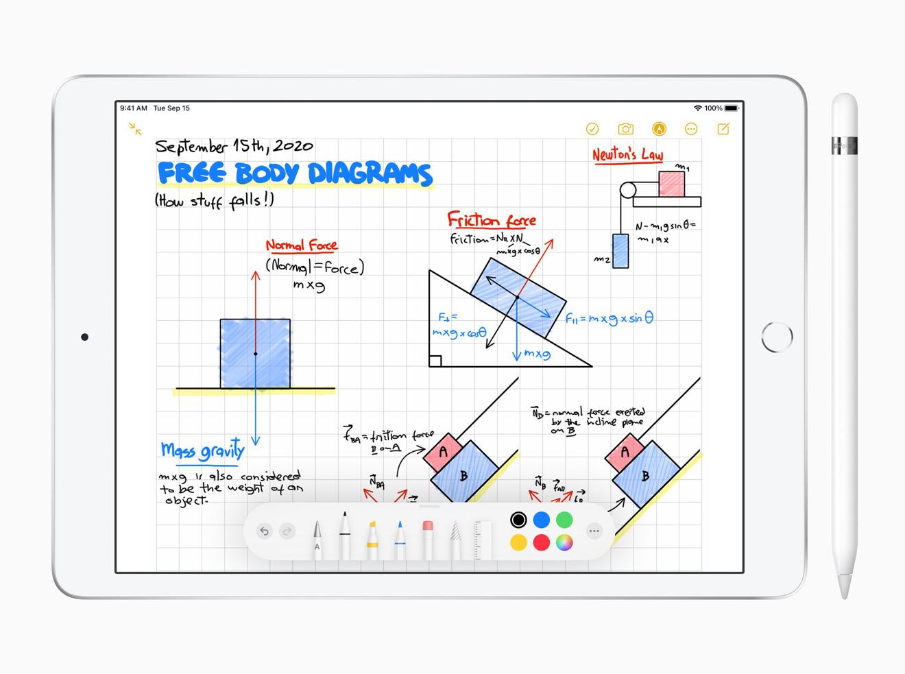 El iPad 2020 es una mejora, pero no mucho desde 2019
