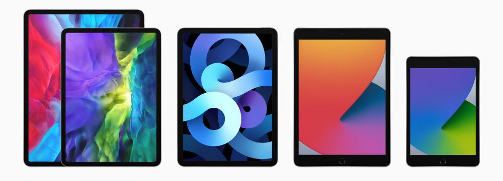Applelínea de iPad