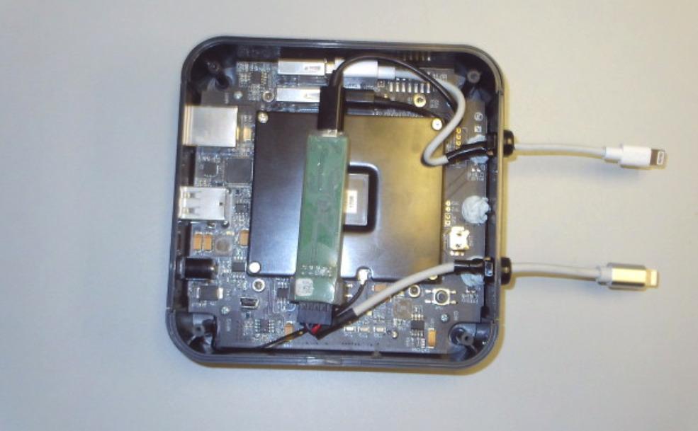Un desmontaje de la FCC del GrayKey