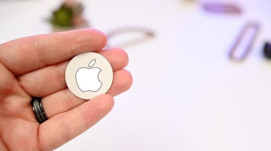 Una imagen conceptual para Apple's' AirTags '