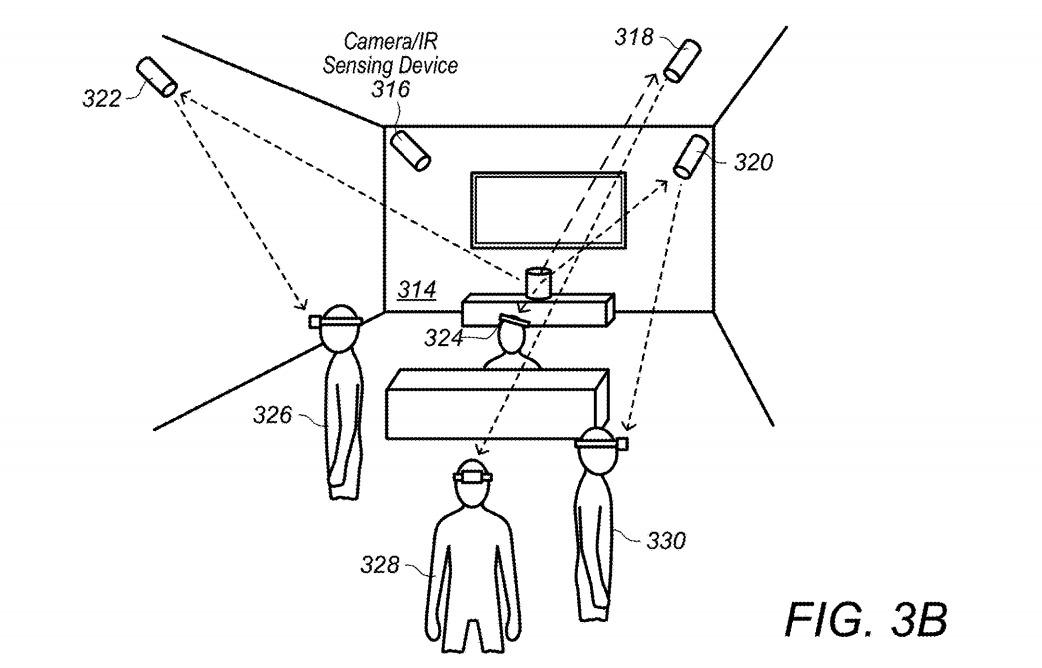 Los marcadores y sensores infrarrojos podrían determinar la posición de un usuario en relación con un relé o una estación base.