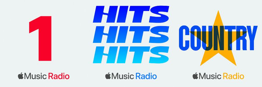 Hay tantas más de tres estaciones de radio en Apple Música