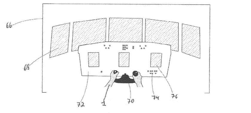 Detalle que muestra un ejemplo de vista de auriculares antes de que se hayan reemplazado las imágenes