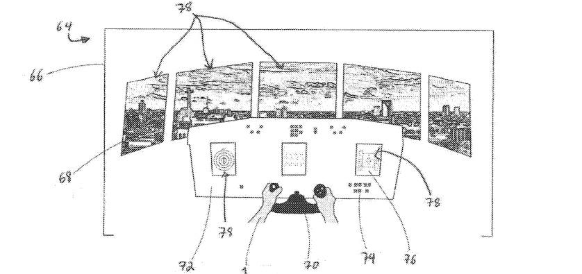Detalle que muestra un ejemplo de vista de auriculares cuando se han reemplazado las imágenes