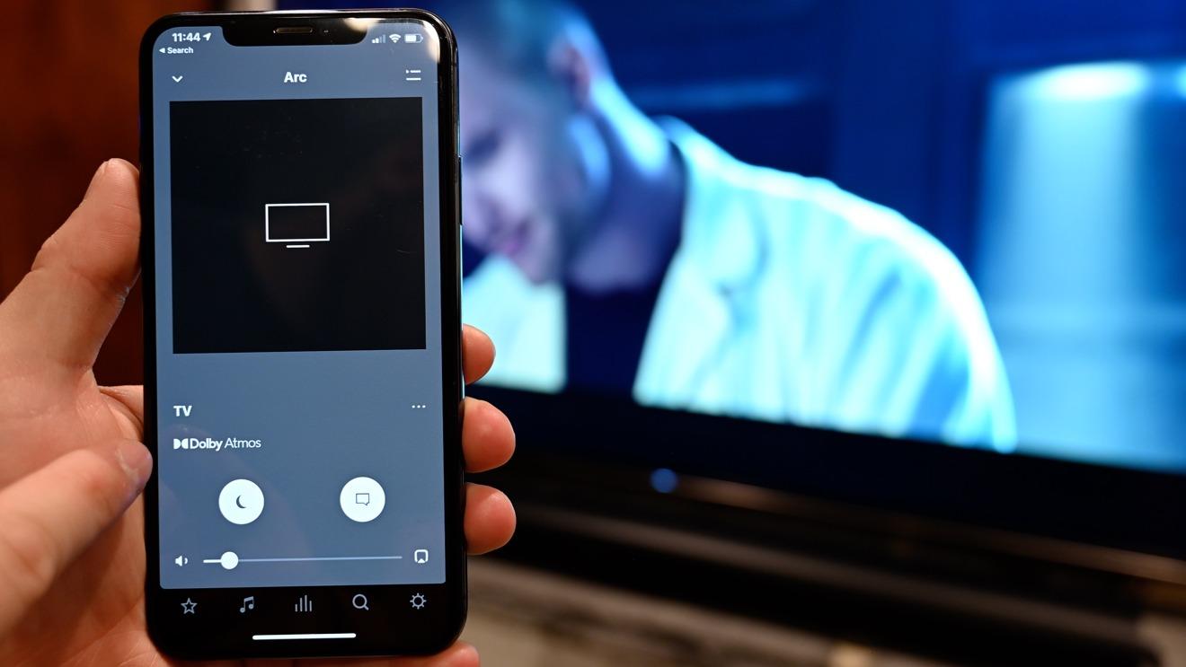 Ver Dolby Atmos en la aplicación Sonos