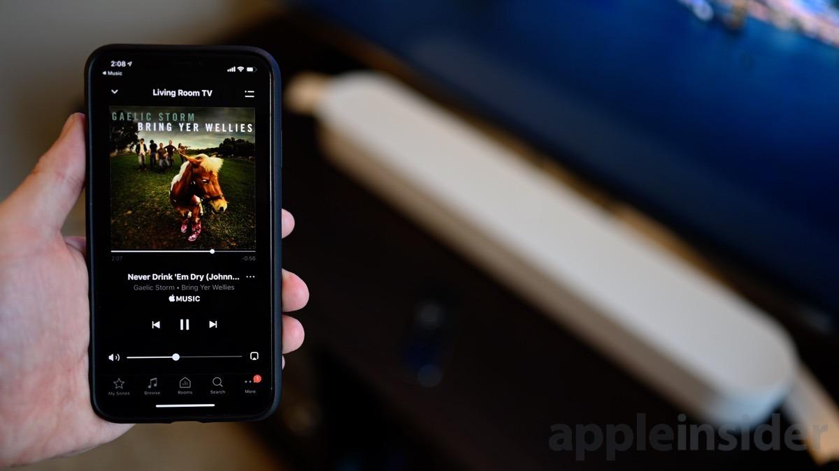 Sonos Beam Apple Música