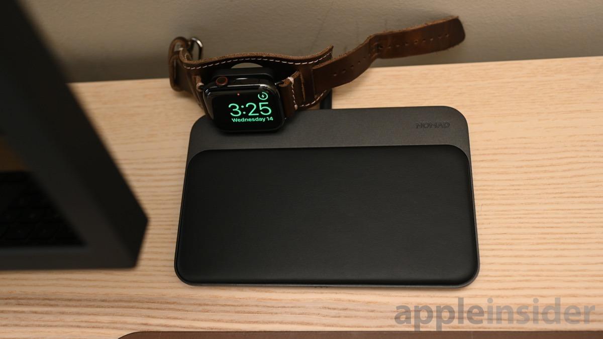 Estación base Nomad + Apple Watch
